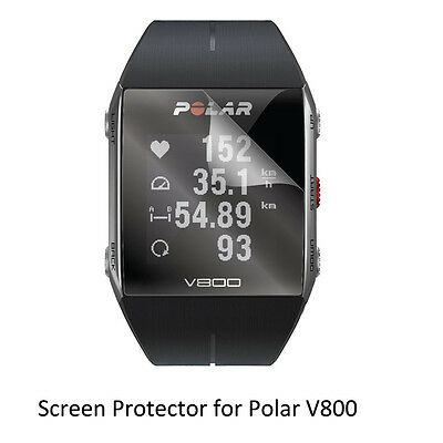 3* Clear LCD Shield Film Anti-Scratch Screen Protector for Polar V800