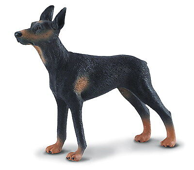 *BRAND NEW* DOBERMAN PINSCHER DOG MODEL by COLLECTA 88086 *FREE UK POSTAGE*