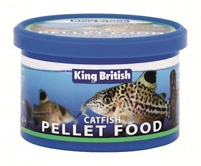 King British Catfish Pellet Food 600g For Cat fish Tropical Fish Zebra Pleco