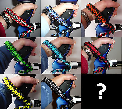 Archery Bow Sling / Wrist Sling - Uk Made - Choose Your Own Colours Bowsling