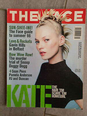 Magazine revue THE FACE #92 may 1996 Kate Moss