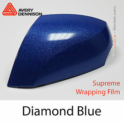 152x2000cm FILM Diamond Blue Avery Dennison Supreme Wrapping Covering BD2890001