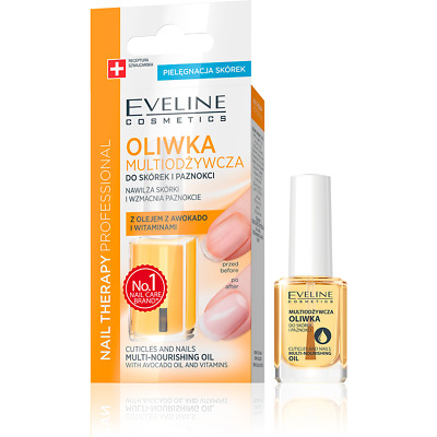 EVELINE Multi-Nourishing Oil Cuticles & Nails With Avocado & Vitamins 12ml