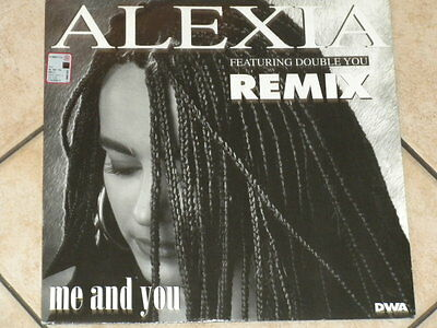 VINILE DANCE 12'' Alexia Feat. Double You - Me And You Remix