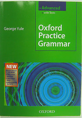 OXFORD PRACTICE GRAMMAR Advanced with Tests , WITHE CD-ROM NEW  9780194579827