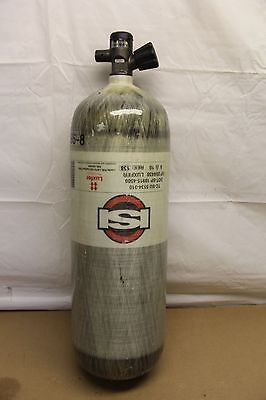 Luxfer 4500psi Carbon SCBA Air Pack Bottle Cylinder Tank 2010 MFG 60m MSA SCOTT