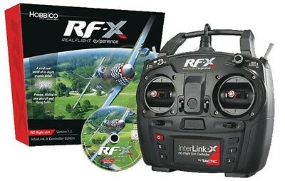Great Planes GPMZ4540 Realflight RF-X with Interlink-X