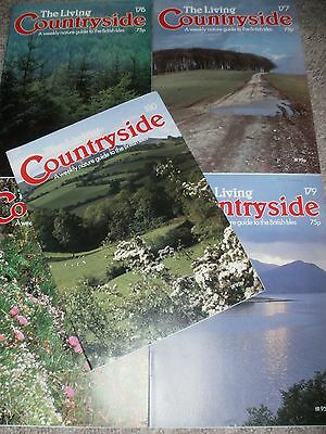 The Living Countryside Magazines 5 Issues 176-180