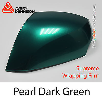 20x30cm FILM Pearl Dark Green Dennison Supreme Wrapping Covering - AS8960001