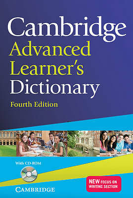 Cambridge Advanced Learner's Dictionary with CD-ROM by Cambridge University Pres