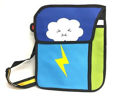 Rare Pop-Art Japanese Anime Lightning Cloud Backpack
