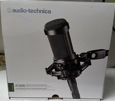 Audio-Technica Cardioid Condenser Microphone (AT2035) - Brand New