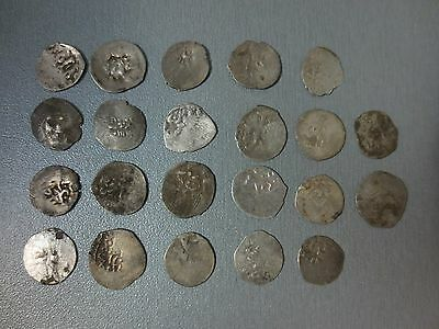 LOT 22pcs SILVER OTTOMAN TURKISH TURKEY ISLAMIC ARABIC AKCE AKCHE COINS RARE