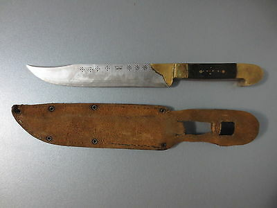 ANTIQUE Early 20th CENTURY OTTOMAN LARGE DAGGER KNIFE LOT of MARKS - VERY RARE