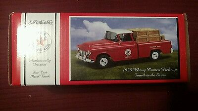 ERTL TEXACO 1955 CHEVY CAMEO PICK-UP TRUCK  4th in Series MIB Free Shipping