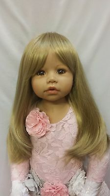 "NWT Monique Misty Blonde Doll Wig 17-18"" fits Masterpiece Doll(WIG ONLY)"