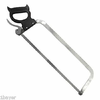 "Weston Butcher 22"" Stainless Steel Hand Tool Blade Beef Pork Meat Slicer Saw"