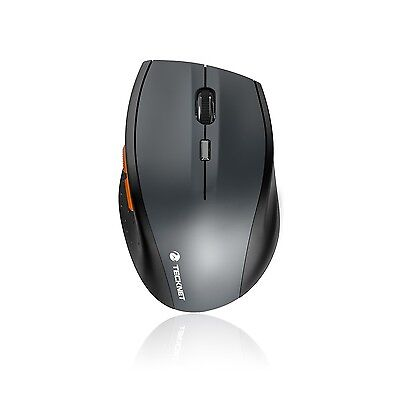 TeckNet Bluetooth Wireless Mouse- With Battery Indicator - 2000/1500/1000dPi