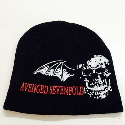 Skull Avenged Sevenfold Tuque winter hat beanie New