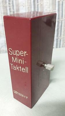 Old Vintage Wittner Mini Taktell Metronome Music Piano Timer West German Wind-Up