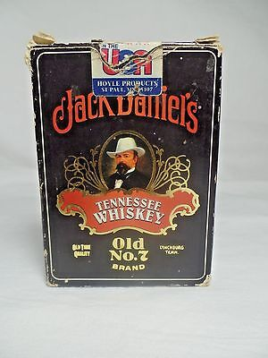 1998 Hoyle Jack Daniels Tennesse Whisky Playing Cards Complete 6633