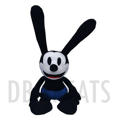 """Disney Parks Oswald The Lucky Rabbit 9"""" Plush NEW! FREE SHIPPING"""