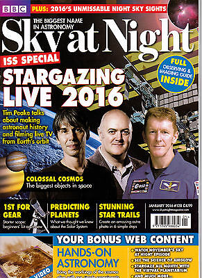 Sky at Night Magazine.  Issue 128. January 2016.  New condition.