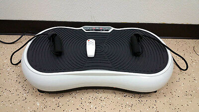 New 2016 Portable Ultra Thin Vibration Plate Machine  w/ Arm Straps Whole Body