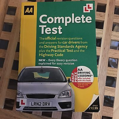 AA Driving Theory Book