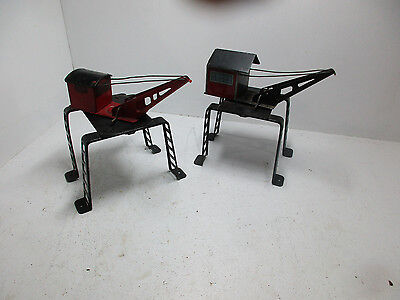 Marx Derrick And Crane For Vintage Metal Lionel Train