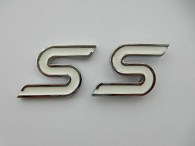 Ford Fiesta S Badge, Focus, Zetec, TDCI Badges Brand New, Front and Back
