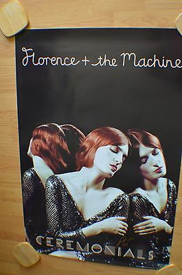 Florence & The Machine ~ Florence Welch  Autographed 24x36  Poster with COA