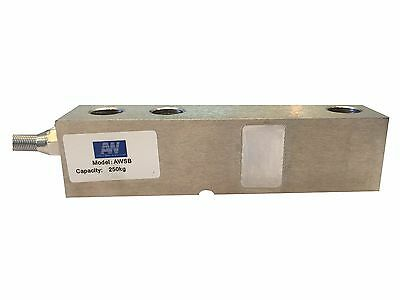 Shear beam load cell , 500 kg capacity  with swivel foot and spacer plate