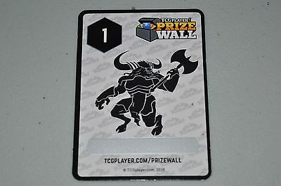 TCGPlayer 2016 Prize Wall Point Card 1 Point