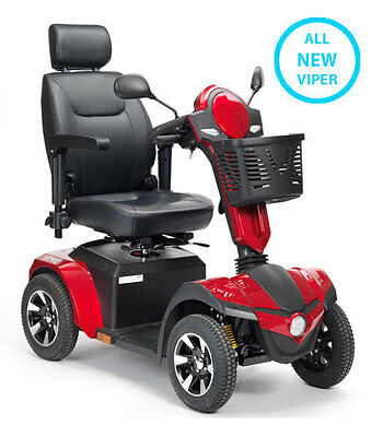 All New Viper Mobility Scooter – 75AH Platinum Gel Batteries *Brand New*