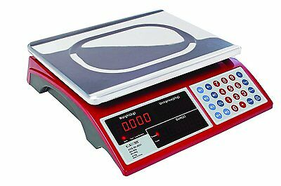 """Digital Price Scale For Produce With 15"""" Platform Rechargeable Battery Included"""