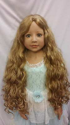 """NWT Monique Donna Light Ginger Doll Wig 19 1/2"""" fits Masterpiece Doll(WIG ONLY)"""