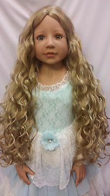 "NWT Monique Donna Blonde Doll Wig 19 1/2"" fits Masterpiece Doll(WIG ONLY)"