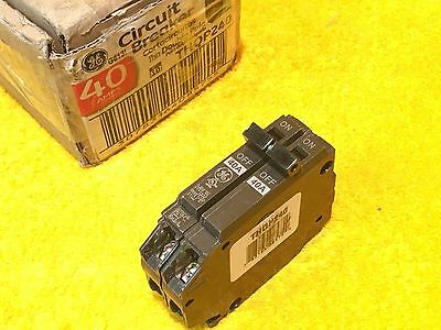 ***new*** Ge Thqp240 40 Amp 2-Pole Plug In Mini Breaker