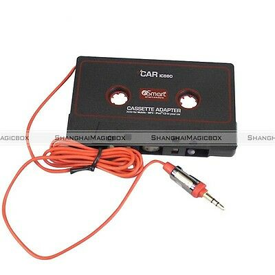 Cassette Car Stereo Tape Adapter for iPod iPhone MP3 AUX CD Player 3.5mm S3