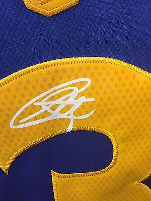 Stephen Curry Signed Jersey Liverpool Golden State Warriors