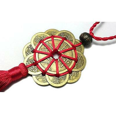 Chinese traditional Feng Shui Fortune Coin Tassel  Wealth Good Luck Prosperity
