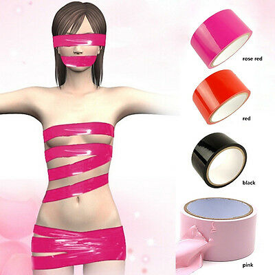 15M Adult Hen Night Fun Sex Tie Up PVC Fore Play Toy Bondage Self Clinging Tape