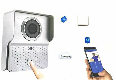 Videocitofono Campanello Wireless Wifi Smartphone Cellulare Android Ios Led Ir