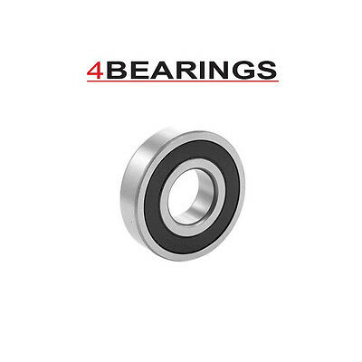 Budget 6000-6012 2Rs Series Rubber Sealed Deep Groove Ball Bearing Choose Size