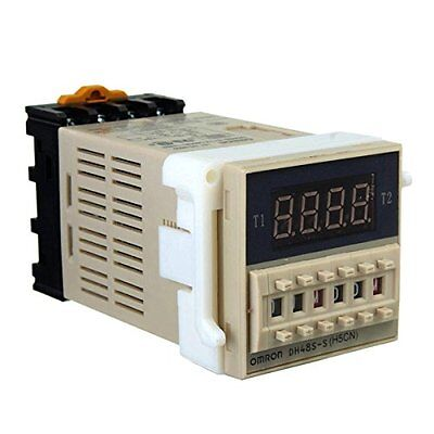DH48S-S AC 220V repeat cycle SPDT time relay with socket DH48S series 220V S