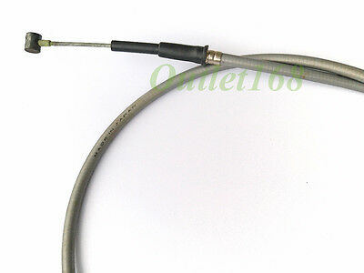 New Old Stock Yamaha 100 LS2 HS2 HX90 Control Front Brake Cable Wire Grey Color