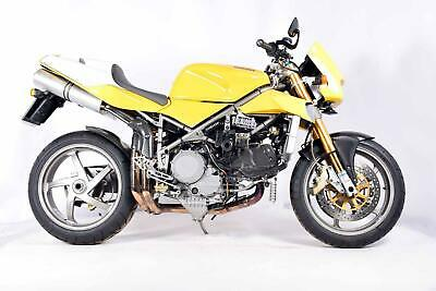 Ducati 998S 2002 Street Fighter Custom special Very Cool with low miles