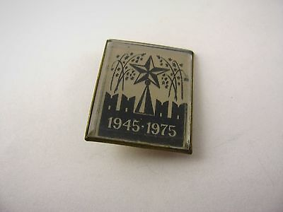 Vintage Russian USSR Pin: 1945-1975 Cold War