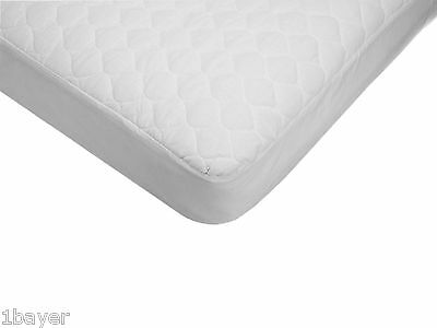 American Baby Infant Child Waterproof Quilted Cotton Crib Mattress Pad Cover